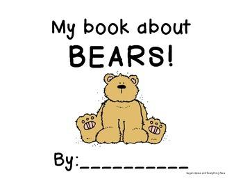 Bear Interactive/Emergent Reader