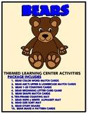 Bear Kit One  - Themed Learning Center Activity Kit