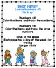 """Bear Learns Numbers and Days of the Week """"No Prep"""""""
