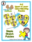 Bear Loves - Valentine's Day - Alphabet / Letter Puzzles -