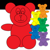 Bear Manipulatives to Use in Your Digital or Print Resources
