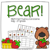 Bear! Math Fact Fluency Practice Game | Addition and Subtraction within 20