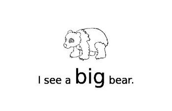 Bear Mini Book