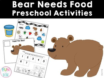 Bear Needs Food Preschool Activities