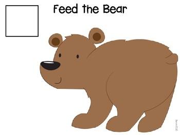 Bear Needs Food Preschool Activities