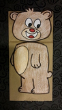 Bear Paper Bag puppet