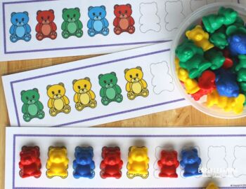 Patterning Activities for Preschool and Kindergarten | Bear Patterns Activity