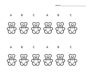 Bear Patterns