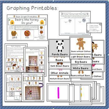 Bear Printables and Activities for Preschool and Kindergarten