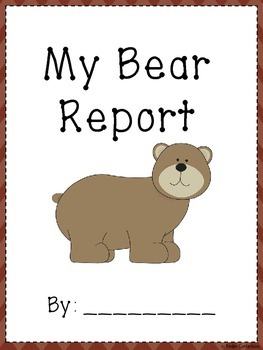 Bear Research Report and Writing