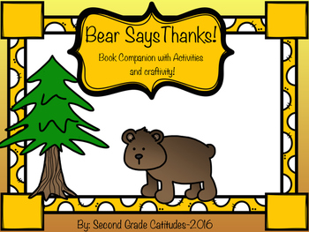 Bear Says Thanks!