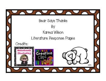 Bear Says Thanks!