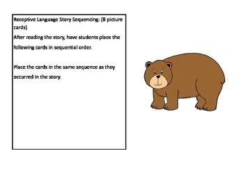 Bear Says Thanks Book Companion Sample