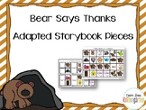 Bear Says Thanks Companion - Adapted Story Book Pieces