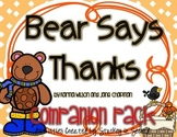 Bear Says Thanks {Companion Pack}