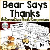 Bear Says Thanks Interactive Companion Set (November Reading Center)