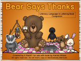Bear Says Thanks:  Literacy, Language and Listening Book Companion