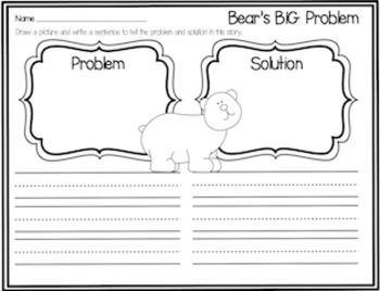 Bear Says Thanks Retell Packet