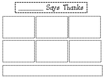 """""""Bear Says Thanks"""" Sequencing and Creative Writing"""