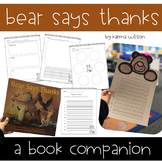 Bear Says Thanks - Thanksgiving Book Companion