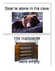 Bear Says Thanks adapted book