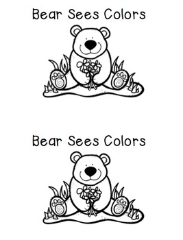 Bear Sees Color Interactive Books