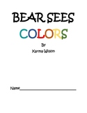 Bear Sees Colors - A Book Study