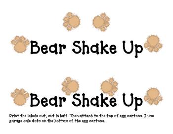 Bear Shake Up
