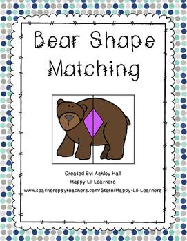 Bear Shape Matching