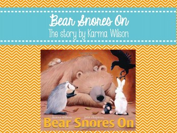 Bear Snores On (Book Companion)