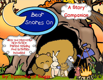 Bear Snores On (A Story Companion with paired Non-fiction