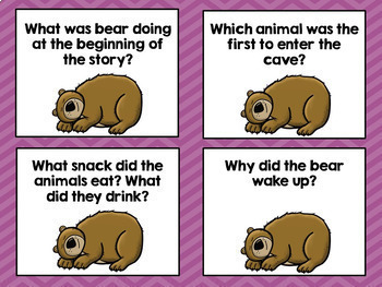 Bear Snores On Book Companion