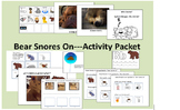 Bear Snores On---Activity and Companion Pack for Special Ed and Speech