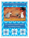 "Bear Snores On-An Interactive Notebook/Lapbook and ""Close Read"""