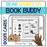 Bear Snores On Book Companion   Boom Cards™️ Deck   Teletherapy