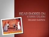 Bear Snores On Discussion Questions