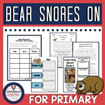 Bear Snores On Guided Reading and Writing Unit