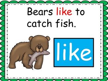 Bear Snores On, Kindergarten, PowerPoint, Reading Street, Unit 2, Week 4
