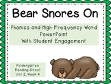 Bear Snores On, PowerPoint With Student Engagement