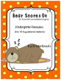 Bear Snores On Kindergarten Treasures Supplemental Material