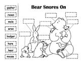 Bear Snores On Labeling