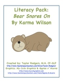 Bear Snores On: Literacy Companion Pack