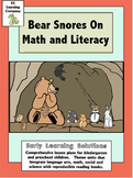 Bear Snores On Literacy and Math Unit