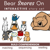 Bear Snores On Literature Link (Storytelling, Sequencing,