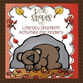 Bear Snores On - Literacy and Math Activities for Kinders