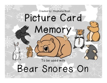Bear Snores On Memory Matching Game