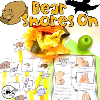 Bear Snores On Read-Aloud Activity