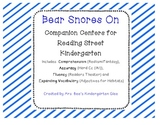 Bear Snores On Reading Street Companion Centers