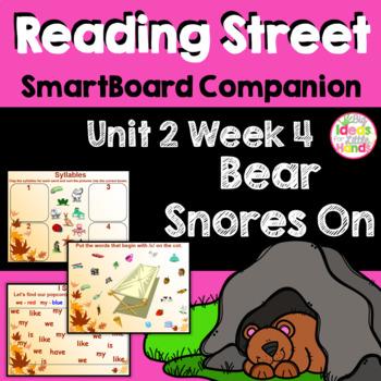Bear Snores On SmartBoard Companion Kindergarten