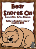 Bear Snores On Resource Packet - aligned with Scott Foresm